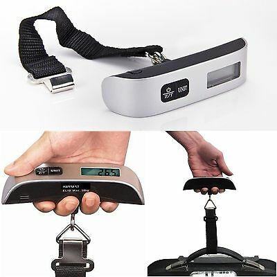 New Electronic Luggage Scale With Built-In Backlight Hanging LCD Digital Scales