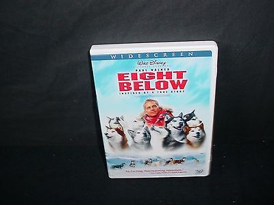 Eight Below Disney DVD Video Movie