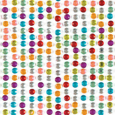 Self-Adhesive Rainbow Gems for Kid's Craft Embellishments (Pack of 900)