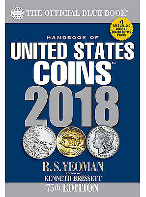 Whitman's Official Blue Book Guide of United States Coins 2018