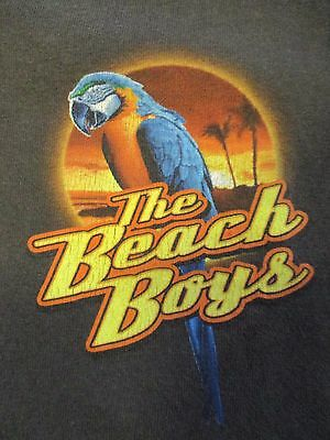 """2008 THE BEACH BOYS """"Warmth of the Sun"""" CREW Concert Tour (MED) T-Shirt"""