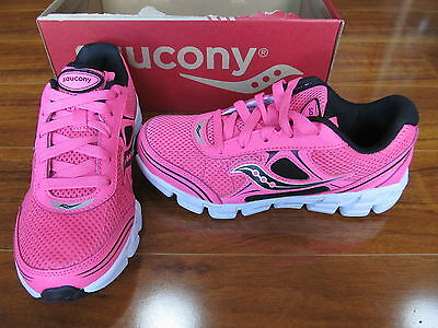 NEW SAUCONY KOTARO 2 Athletic Sneakers Shoes Girls Size 11 PINK/BLACK $45.00