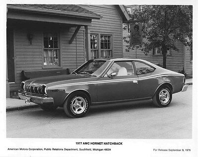 1977 AMC Hornet Hatchback ORIGINAL Factory Photo oub5537