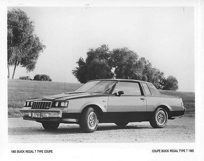 1985 Buick Regal T Type Coupe ORIGINAL Factory Photo oub5648