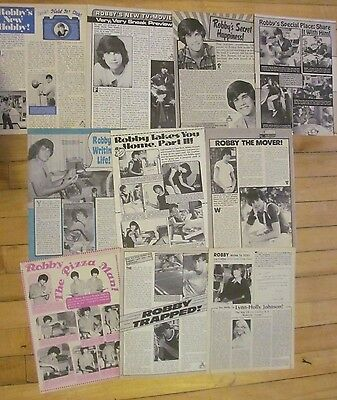 Robby Benson, Lot of TEN Full Page Vintage Clippings, 5