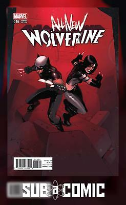 ALL NEW WOLVERINE #16 BENGAL CONNECTING D VARIANT (MARVEL 2017 1st Print) COMIC