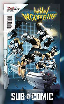 ALL NEW WOLVERINE #14 BENGAL CONNECTING B VARIANT (MARVEL 2016 1st Print) Comic