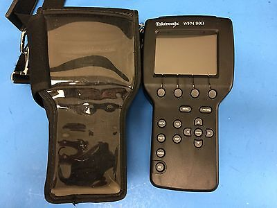 Tektronix WFM90D Handheld Waveform Vectorscope in Case