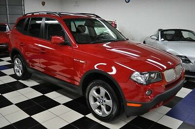 2007 Bmw X3 Only 63K Miles - Panoramic Roof- Awd - Certified Carfax - Like New - Not X5 X1