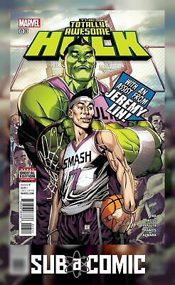 TOTALLY AWESOME HULK #13 (MARVEL 2016 1st Print) COMIC
