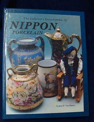 Nippon Porcelain Collectors Hardcover 1979 Encyclopedia & Additional Price Quide