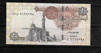 Egypt Egyptian 2016 Pound Au-Uncirculated Banknote Paper Money Currency Note
