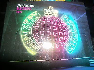 VARIOUS - M.O.S. ANTHEMS - ELECTRONIC 80s          3 x CD Album     (2009)