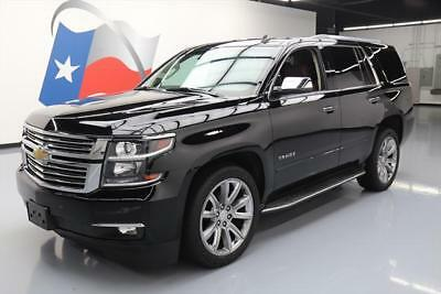 2015 Chevrolet Tahoe LTZ Sport Utility 4-Door 2015 CHEVY TAHOE LTZ 4X4 7PASS SUNROOF NAV DVD 22'S 62K #196691 Texas Direct