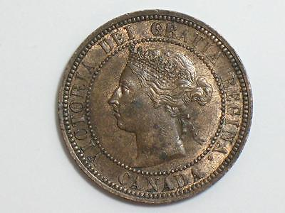1888 Canada Large Cent - Canadian World Coinage - Queen Victoria