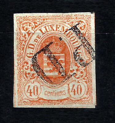 LUXEMBOURG Yv 11 Used P.D. Cancel - VG