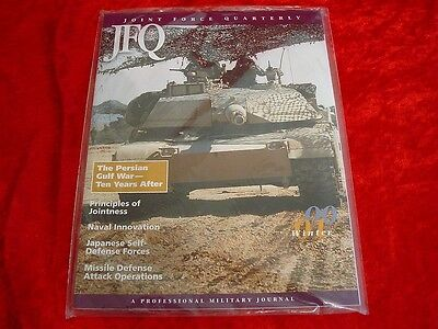 Original Joint Force Quarterly Military Magazine Winter 2000 #27 In Package~EXC