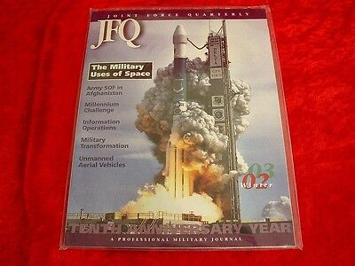 Original Joint Force Quarterly Military Magazine Winter 2002 #33 In Package~EXC