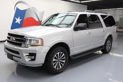 2016 Ford Expedition  2016 FORD EXPEDITION EL XLT ECOBOOST 8PASS REAR CAM 51K #F49611 Texas Direct