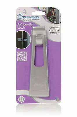 Dream Baby Silver Style Refrigerator Latch Brand New Childproof