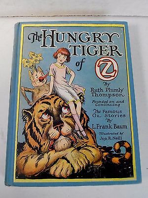 Wizard Of Oz *1926 The Hungry Tiger Of Oz Book*
