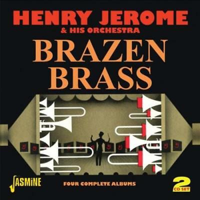 Henry Jerome - Brazen Brass: Four Complete Albums Used - Very Good Cd