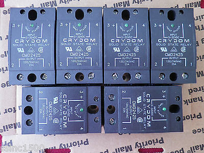 Lot of 6 Crydom Solid State Relays CMD2425