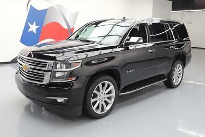 "2016 Chevrolet Tahoe LTZ Sport Utility 4-Door 2016 CHEVY TAHOE LTZ SUNROOF NAV DVD 22"" WHEELS 33K MI #219801 Texas Direct Auto"