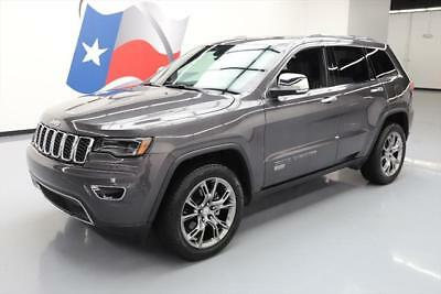 2017 Jeep Grand Cherokee Limited Sport Utility 4-Door 2017 JEEP GRAND CHEROKEE LIMITED PANO ROOF NAV 20'S 12K #702336 Texas Direct