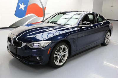 2014 BMW 4-Series Base Coupe 2-Door 2014 BMW 435I XDRIVE COUPE AWD SPORT LINE SUNROOF NAV #186533 Texas Direct Auto
