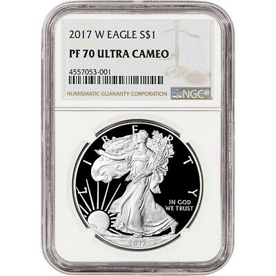 2017-W American Silver Eagle Proof - NGC PF70 UCAM