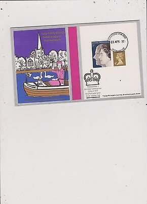 1971 Great Britain Shakespeare Celebration  First Day Cover #6  Free Ship U.s