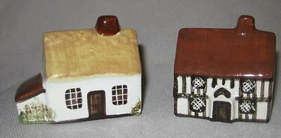 4 Suffolk Button Tudor Cottages Ceramic Houses England for Around the Corner
