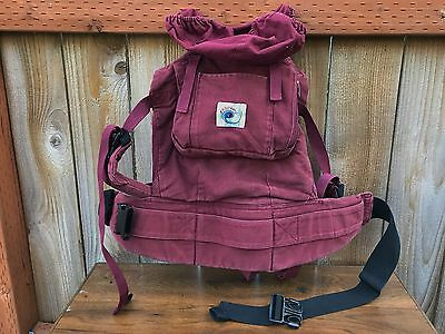 $120 Ergobaby 15 - 40 lbs baby carrier.Brown.Made in USA