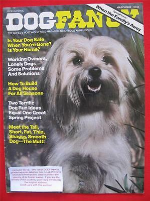 RARE Collectible ~ MUTT MIXED BREED Issue ~ DOG FANCY Magazine ~ March 1982 #