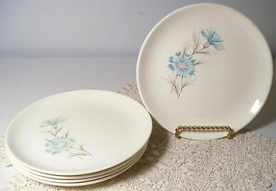 Taylor Smith & Taylor Ever Yours Boutonniere 5 Vintage Bread & Butter Plates/B&B