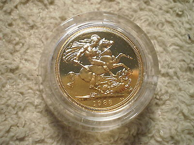 1983 Proof Sovereign Great Britain/ 917 Gold .2354 Agw