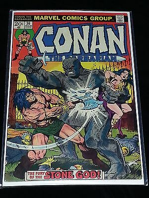 CONAN THE BARBARIAN #36 Marvel Comics Group 20 Cents 1973