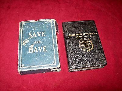 Vintage Save and Have Savings Bank, State Bank of Humboldt in Humboldt, SD.