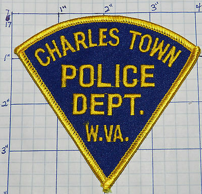 West Virginia, Charles Town Police Dept Patch