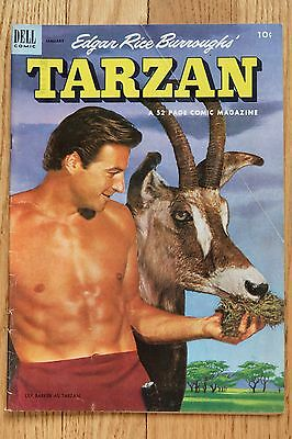 TARZAN 40 1953 DELL solid VG and JUNGLE COMICS 108 FICTION HOUSE 1948 in poor