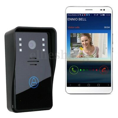 Wireless Wifi Video Doorbell Door Bell Intercom Camera Home Security Monitor AU