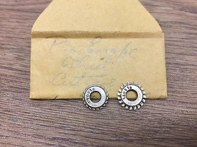 A Pair Of Watchmakers Pin Escape Wheel Cutters Lot A