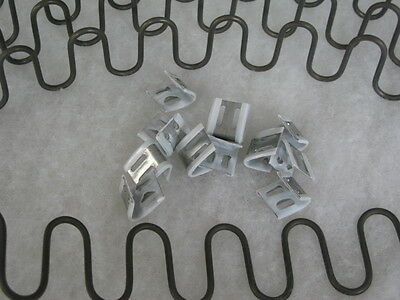 SELECT ANY SIZE UPHOLSTERY ZIG ZAG SPRING or SPRINGS + CLIPS SOFA  ACCESSORIES//