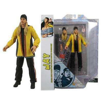 "Jay & Silent Bob Diamond Select Jay 7"" Action Figure Collectible"