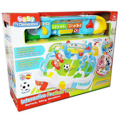 Clementoni Baby Interactive Football Table NEW