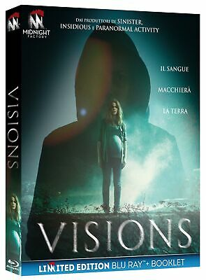 Visions  Limited Edition   Blu-Ray+Booklet    Horror