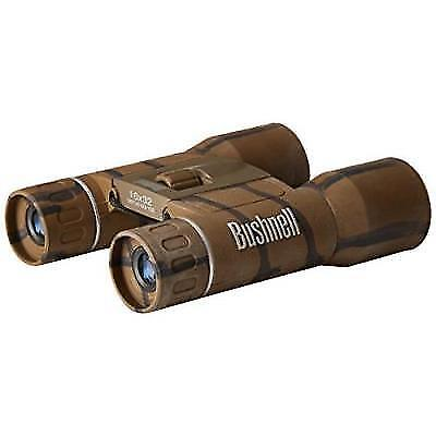 Bushnell Powerview 8x21 Compact Folding Roof Prism Binocular (Camouflage) New