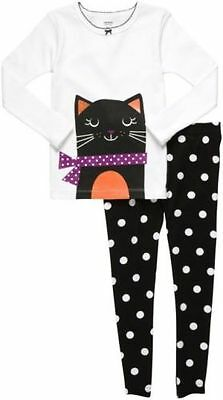 NWT ☀KITTY CAT☀ CARTERS Girls Pajamas ADORABLE -->YOU PICK --> 12m  18m  24m