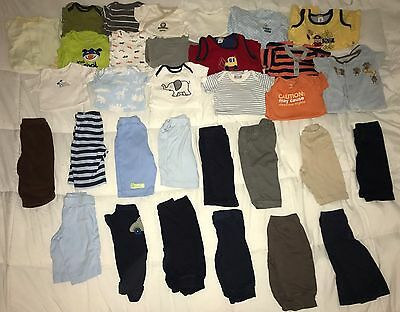 Huge Lot of 30 Baby Boy Clothes Outfits 3 Months Carter's Jumping Beans